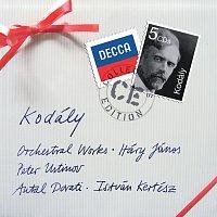 Přední strana obalu CD Kodaly: Orchestral Works