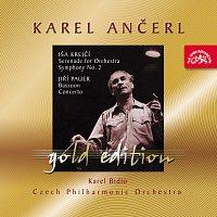 Přední strana obalu CD Ančerl Gold Edition 37. Krejčí: Serenáda, Symfonie č. 2 - Pauer: Koncert pro fagot