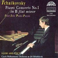Přední strana obalu CD Čajkovskij: Koncert pro klavír a orch. č. 1 b moll, Nocturno...