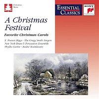 Přední strana obalu CD A Christmas Festival