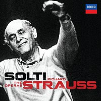Přední strana obalu CD Solti - Richard Strauss - The Operas