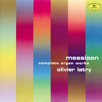 Přední strana obalu CD Messiaen: Organ Works