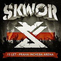 Přední strana obalu CD 15 let - Praha Incheba Arena