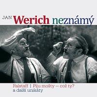 Přední strana obalu CD Jan Werich (ne)známý