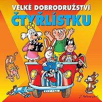 Přední strana obalu CD Velké dobrodružství Čtyřlístku