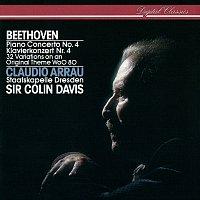 Claudio Arrau, Staatskapelle Dresden, Sir Colin Davis – Beethoven: Piano Concerto No. 4; 32 Variations On An Original Theme