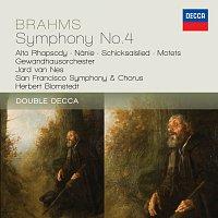 Gewandhausorchester Leipzig, San Francisco Symphony Chorus, San Francisco Symphony – Brahms: Symphony No.4; Alto Rhapsody; Nanie