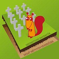 Přední strana obalu CD Desať mŕtvych veveričiek