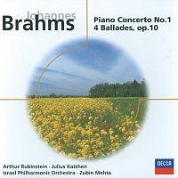 Arthur Rubinstein, Israel Philharmonic Orchestra, Zubin Mehta, Julius Katchen – Brahms: Piano Concerto No.1 in D minor/4 Ballades, Op.10