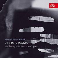 Přední strana obalu CD Janáček, Novák & Nedbal: Sonáty pro housle a klavír