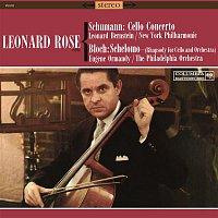 Leonard Rose, Leonard Bernstein, New York Philharmonic Orchestra, Robert Schumann – Schumann: Cello Concerto in A Minor, Op. 129 & Bloch: Schelomo