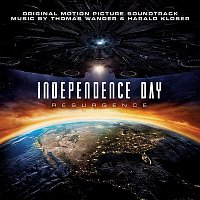 Přední strana obalu CD Independence Day: Resurgence (Original Motion Picture Soundtrack)