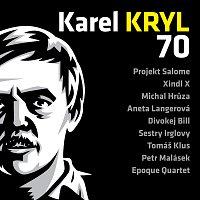 Přední strana obalu CD Karel Kryl 70