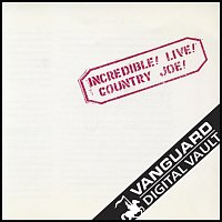 Country Joe McDonald – Incredible! Live! [Live]