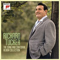 Přední strana obalu CD Richard Tucker: The Song and Cantorial Album Collection