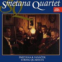 Přední strana obalu CD Smetana, Janáček: Smyčcové kvartety