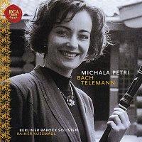 Přední strana obalu CD Michala Petri Plays Bach & Telemann
