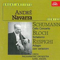 André Navarra – Schumann: Koncert pro violoncello, Bloch: Šelomo, Respighi: Adagio con variazioni
