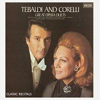 Přední strana obalu CD Tebaldi & Corelli: Classic Recital