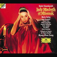 Přední strana obalu CD Shostakovich: Lady Macbeth of Mtsensk District