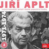 Přední strana obalu CD Nejvýznamnější textaři české populární hudby Jiří Aplt (1971-1974) 2