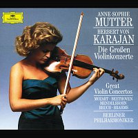 Anne-Sophie Mutter, Berliner Philharmoniker, Herbert von Karajan – The Great Violin Concertos [4 CD's]