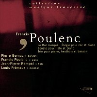 Přední strana obalu CD Poulenc-Un bal masqué-Sonate pour flute-Elegie pour cor-Trio pour piano hautbois et basson