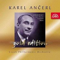 Přední strana obalu CD Ančerl Gold Edition 32. Stravinskij: Svatba (Les Noces), Kantáta, Mše