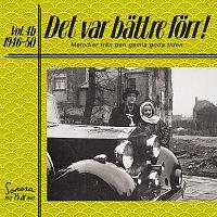 Různí interpreti – Det var battre forr Volym 4 b 1946-50