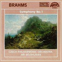 Přední strana obalu CD Brahms: Symfonie č. 1 c moll