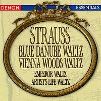 Orchestra of the Viennese Volksoper – Strauss: Blue Danube Waltz - Vienna Woods Waltz - Emperor Waltz - Artist's Life Waltz