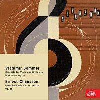 Ladislav Jásek, Česká filharmonie/Václav Jiráček – Sommer: Koncert pro housle a orchestr g moll, op. 10, Chausson: Poem pro housle a orchestr, op. 25