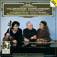 Anne-Sophie Mutter, António Meneses, Berliner Philharmoniker, Herbert von Karajan – Brahms: Violin Concerto; Double Concerto