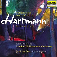 Leon Botstein, London Philharmonic Orchestra, Jard van Nes – Hartmann: Symphonies Nos. 1 & 6