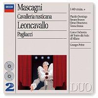 Přední strana obalu CD Mascagni: Cavalleria Rusticana/Leoncavallo: Pagliacci [2 CDs]