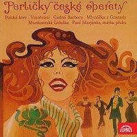 Přední strana obalu CD Perličky české operety