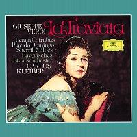 Přední strana obalu CD Verdi: La Traviata