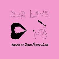 Přední strana obalu CD Our Love
