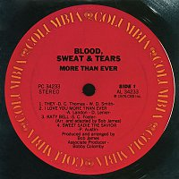 Blood, Sweat, Tears – More Than Ever