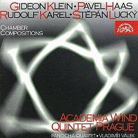 Přední strana obalu CD Komorní skladby pro dechové nástroje / Klein / Karel / Haas / Lucký