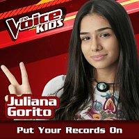 Juliana Gorito – Put Your Records On [Ao Vivo / The Voice Brasil Kids 2017]