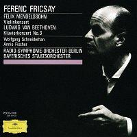 Přední strana obalu CD Mendelssohn: Violin Concerto Op.64 / Beethoven: Piano Concerto No.3, Op.37