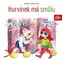 Přední strana obalu CD S+H Hurvínek má smůlu