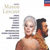 Mirella Freni, Luciano Pavarotti, Giuseppe Taddei, Cecilia Bartoli, James Levine – Puccini: Manon Lescaut [2 CDs]