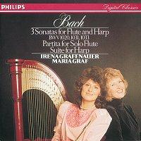 Irena Grafenauer, Maria Graf, David Geringas – Bach, J.S.: Sonatas & Partitas for flute & harp