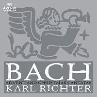 Přední strana obalu CD Bach: Advent And Christmas Cantatas
