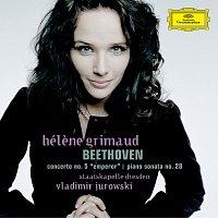 "Přední strana obalu CD Beethoven: Concerto No.5 ""Emperor""; Piano Sonata No.28"