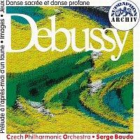Česká filharmonie, Serge Baudo – Debussy: Faunovo odpoledne, Obrazy pro orchestr, Hry, Tance pro harfu a smyčcový orchestr