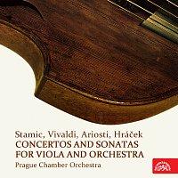 Pražský komorní orchestr – Stamic, Vivaldi, Ariosti, Hráček: Koncerty a sonáty pro violu a orchestr