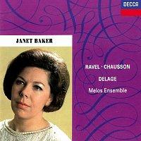 Dame Janet Baker, Melos Ensemble, Bernard Keeffe – French Songs by Ravel, Chausson & Delage